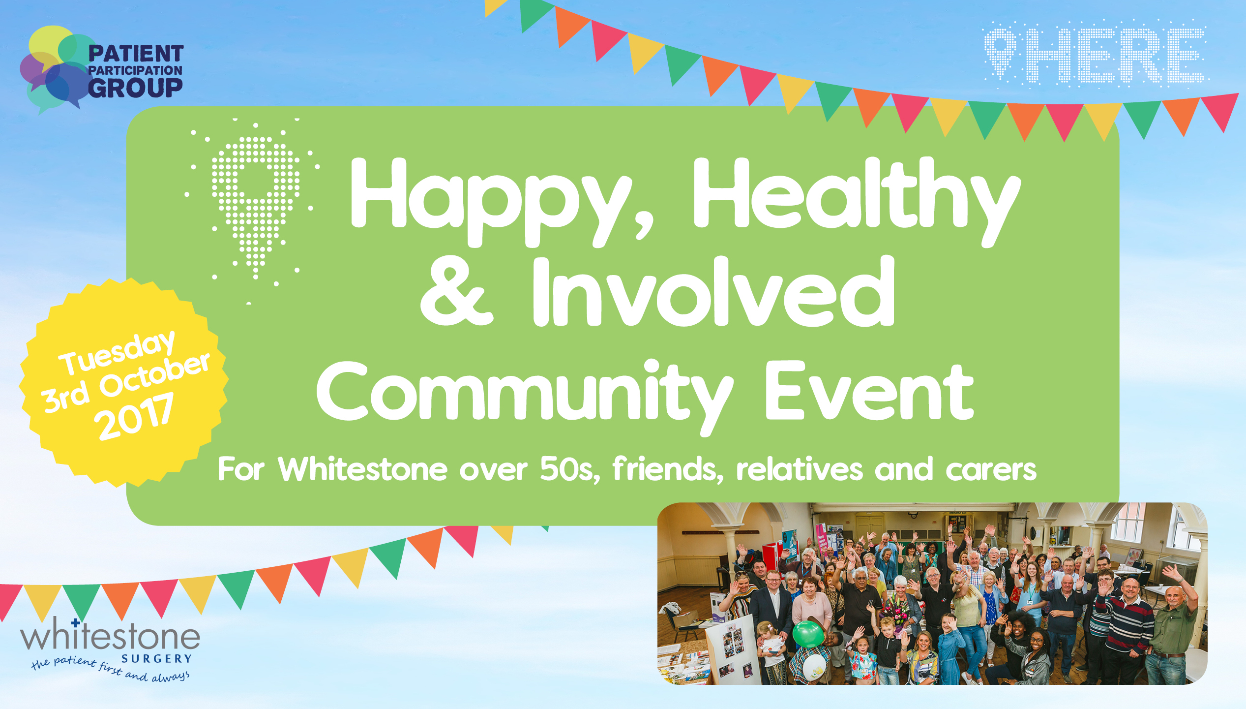 Happy Healthy and Involved Community Event