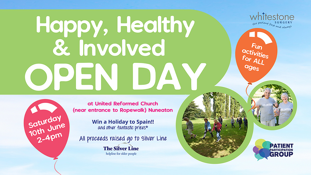 Happy Healthy and Involved Open Day