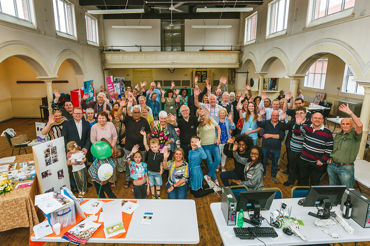 Vibrant Community Support for HH&I Launch