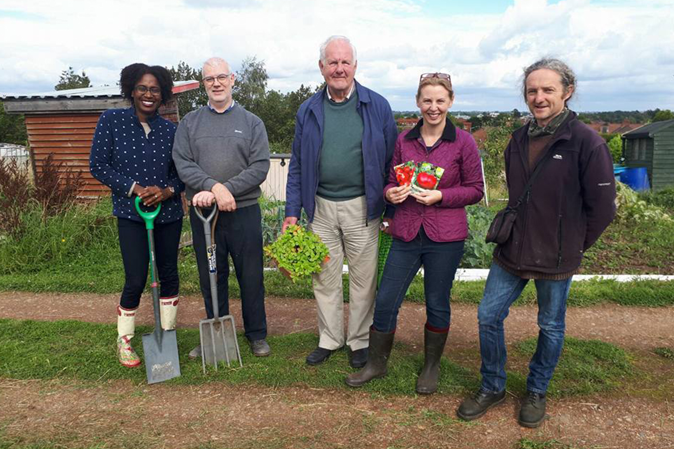 Whitestone Allotment Club Launches