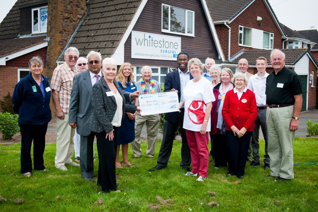 WS-PPG raises £400 for Save the Children
